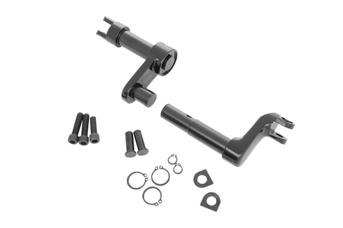 """Drag Specialties Forward Control Conversion Kit for '11-14 XL1200C/X/V Models -2"""" Extended length, Black"""