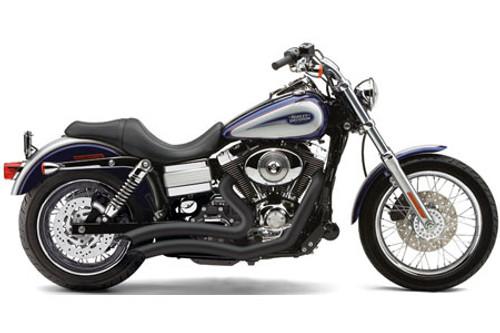 Cobra Speedster Short Swept for All Dyna Models '12-17 - Black