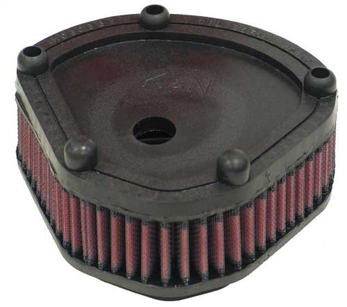 """K & N  High-Flow Air Filter for 80"""" Evolution '86-89"""