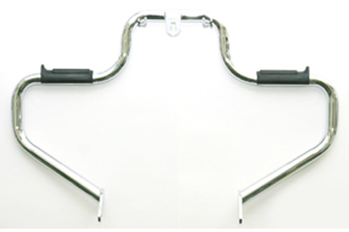Lindby Front Multibar with Mid Mount Controlsfor FXD '91-Up