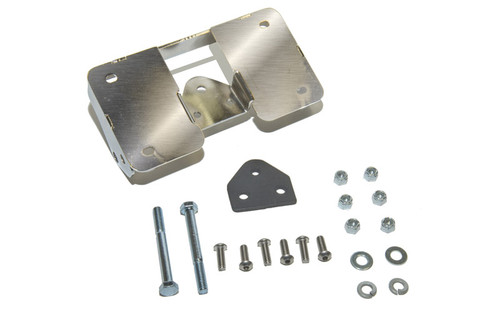 Easy Brackets Turn Signal Relocation Kit & Lay Down License Plate Mount for Fatboy Models '02-06