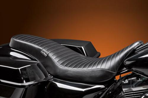 LePera Seats Cobra Full Seat for Harley Davidson Touring Models 2008-Up  -Pleated