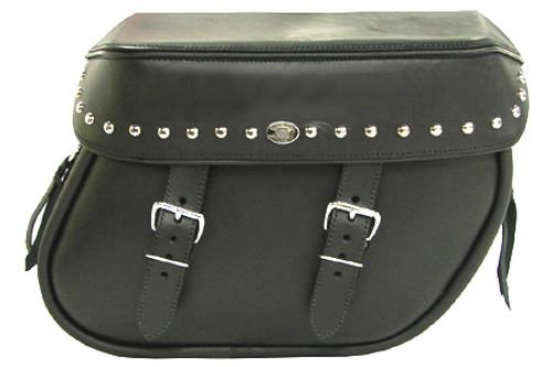Boss Bags Close Fitting #40 Model Studded on Lid Valence Only for '14 Indian Models