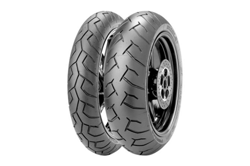 Pirelli Diablo Super Value Supersport Tires FRONT 120/70ZR17  TL  (58W)   -Each
