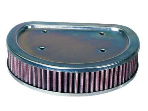 """K & N  High-Flow Air Filter for 88"""" Twin Cam '99-01 Fuel-Injected Dressers"""