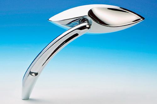 Arlen Ness  3-D Cat Eye Mirror -Left Side Only