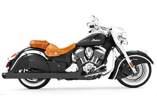 Freedom Performance Liberty 4 inch Slip-On Exhaust  for '14-Up Classic/Vintage/Dark Horse - Black w/Black Tip