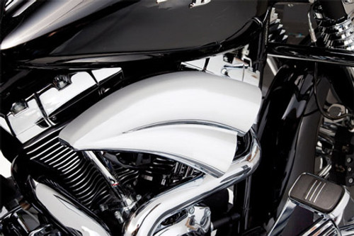 Arlen Ness Double Barrel Air Filter Kit for Harley Davidson Touring Models 2008-2016, Softail & FXDLS 2016-2017 -Chrome