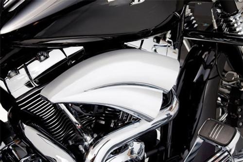 Arlen Ness Double Barrel Air Filter Kit for Harley Davidson Touring Models 2008-2016, Softail & FXDLS 2016-2017 -Chrome