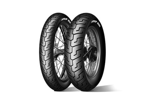 Dunlop Harley Davidson K591 Tires FRONT 100/90-19BLK  51V Black -Each