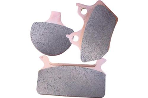 EBC Brake Pads FRONT/REAR Double-H Sintered Metal Pads for '08-12 FLHT/FLHR/FLTR/FLHX & '09-12 H-D FL Trike-Pair OEM# 41854-08