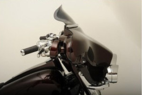 """Klock Werks 6.5"""" Flare Windshield  for FLHT & FLHTC '86-95 -Dark Smoke"""