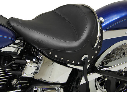 Mustang Seats Wide Studded Solo  for Harley-Davidson Softail Deluxe '05-'17