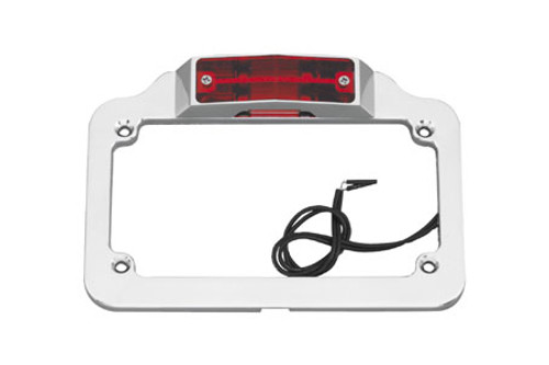 Biker's Choice Twin Light License Plate Frame