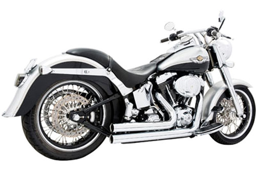 Freedom Performance Exhaust Independence Shorty System for '08-11 Rocker & '13-17  Breakout -Chrome