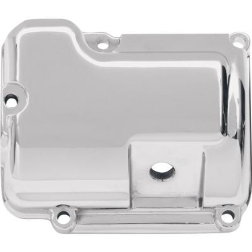 Drag Specialties Chrome Transmission Top Cover for '98-06 FLHT/FLHR/FLTR; '98-99 Softail Replaces OEM #34468-98, #34464-98, #34541-00, or #34549-01