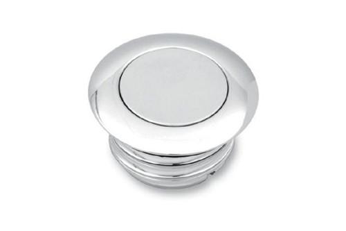 """Drag Specialties Pop Up Gas Cap for '04-12 XL (2.36"""" O.D.) Vented -Chrome"""