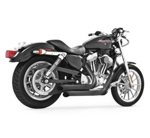 Freedom Performance Exhaust Declaration Turn Out for '04 & Up XL -Black