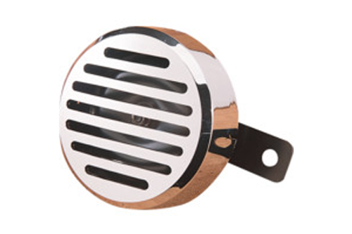 Drag Specialties 12v Horn with Chrome Cover