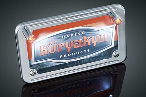 Kuryakyn  L.E.D.  License Plate Illuminators With Red Accent Lights
