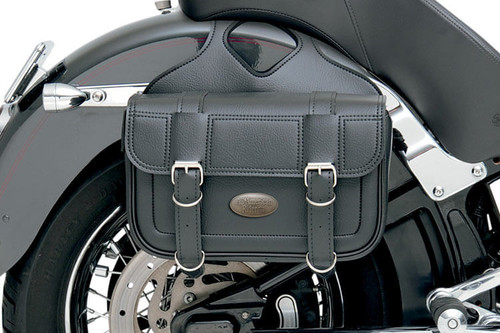 All American Rider Flap Over Saddlebags -Large, Plain