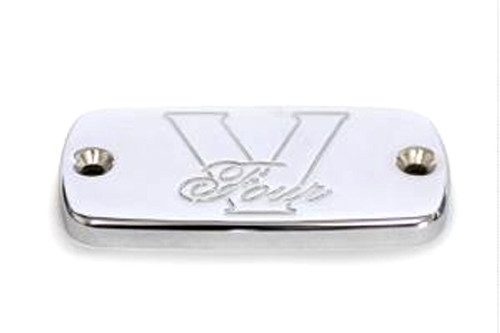 Baron Custom Master Cylinder Covers for Royal Star/Tour Deluxe/Venture '96-Up V4 Art Deco
