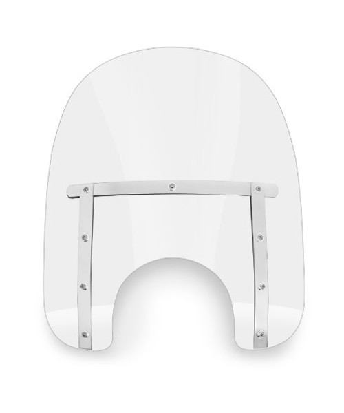 Memphis Shades Slim Windshield for Harley Davidson Models - Choose a Height - Choose a Color Hardware SOLD SEPARATELY