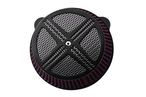 Baron Custom XXX Air Cleaner Assembly for VTX1800 '02-08 Black