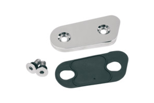 Drag Specialties Chrome Inspection Cover for '84-Up XL
