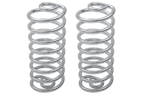 "Drag Specialties 5"" Chrome Seat Spring Sold In Pairs"