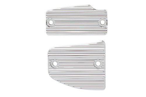 Arlen Ness  10-Gauge Master Cylinder Cover Set  For '14-Up Indian Scout  - Chrome