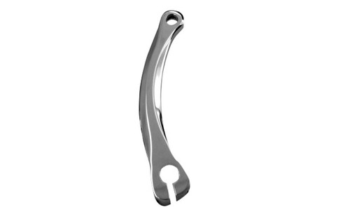 Accutronix Shift Lever Arm for '86-14 FLHT/FLHX/FLHR/FLTR -Diamond, Chrome
