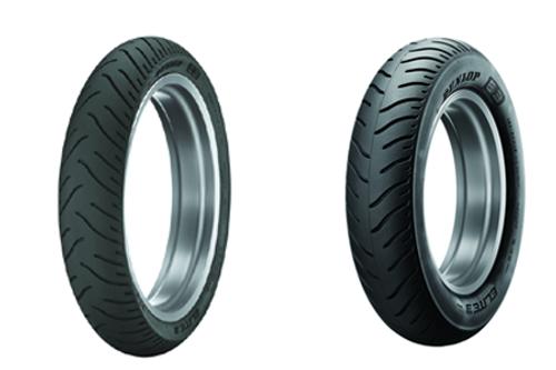 Dunlop Elite 3 Tire REAR 180/70R16  77H for Valkyrie '97-03 & VTX1800R/N/T '03-08 -Each
