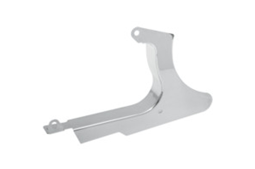 Drag Specialties Chrome Rear Lower Belt Guard for '00-05 FXST; '00-06 FLSTB Replaces OEM #60362-00
