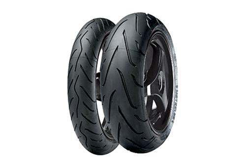 Metzeler Sportec M3 High Performance/High Value Tires FRONT 120/70ZR-17 TL (58W) -Each