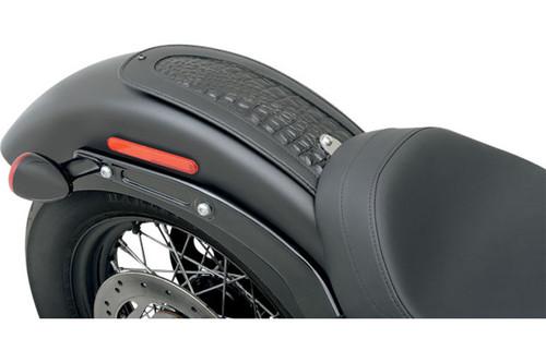 Drag Specialties Fender Skin for '12-13 FLS & '11-13 FXS -Embossed Gator Leather Center