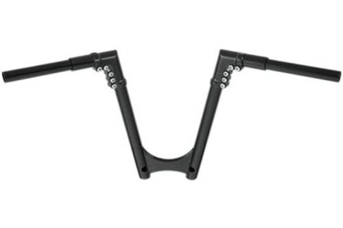 Arlen Ness 1¼ inch Modular Handlebars -8 inch Drag -Black