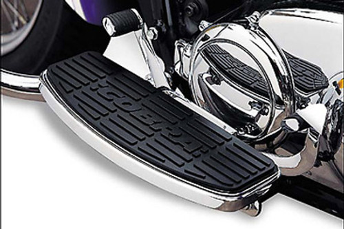 Cobra Classic Front Floorboard Kit  for Sabre/Stateline/Interstate 1300 '10 & Up  -Chrome