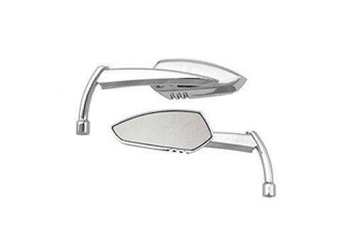 Hard Drive Parts Apache Alloy Mirror w/ Knife Stem Universal Fit -Chrome, Left (each)