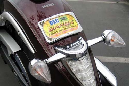 Baron Custom Curved License Kit for Roadliner/Stratoliner '06-Up