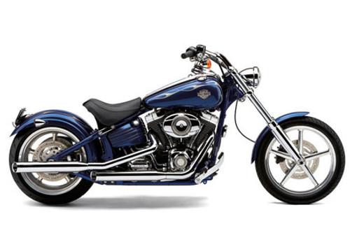 Cobra 3 Inch Slip On Mufflers w/ Billet Tips for '07-17 Harley-Davidson Softail Models including Rocker - Chrome