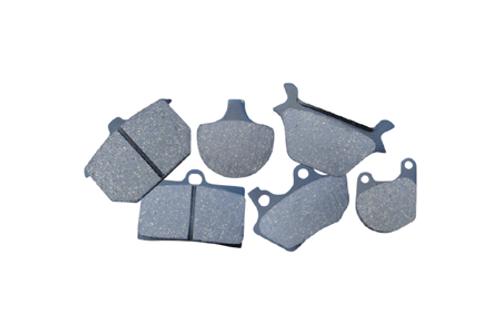 EBC Brake Pads FRONT Kevlar® Pads for '88-06 FXSTS, '97-03 FLSTS, '05-07 FLSTSC'08-10 FLSTB, '84-99 (all)'94-99 FLHR/FLHRCI-Pair OEM# 43063-83/83A/83C
