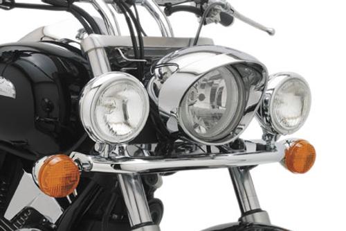 Cobra Steel Lightbar with Spotlights for VTX1300 R/S '03-up