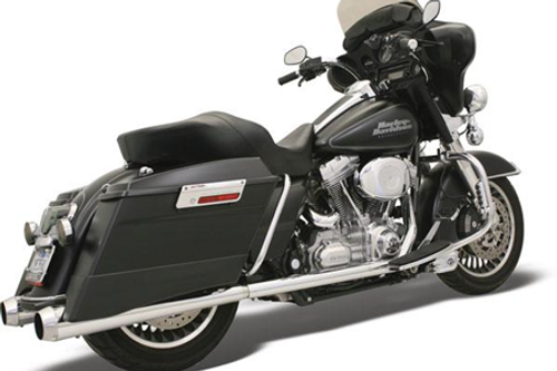 Bassani Stepped True Duals for FL Models '95-08 with Billet End Caps