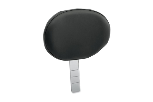 Drag Specialties EZ Glide 1 Backrest with Pouch, Solar Reflective Leather
