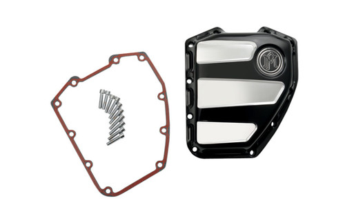 Performance Machine Scallop Cam Cover for '01-17 Twin Cam  - Polished