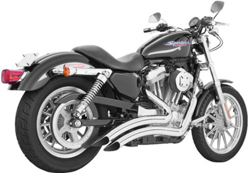 Freedom Performance Exhaust Sharp Curve Radius for '14-Up Sportster -Chrome FOR FORWARD CONTROLS ONLY