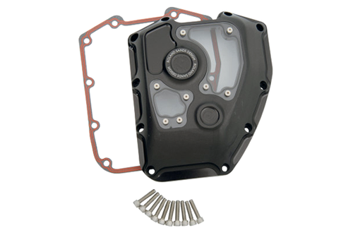 Roland Sands Design Clarity Cam Cover for '01-16 FL Touring Models - Black Ops (Click for Fitment)