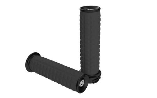 Roland Sands Traction Grips for '08-Up FL & FL Trikes -Black