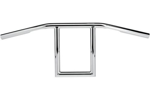 """Biltwell Inc. 1"""" Handlebars -Window, Chrome"""
